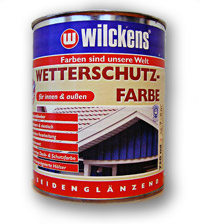Wilckens paint for exterior use