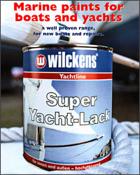 Wilckens marine paints for boats and yachts